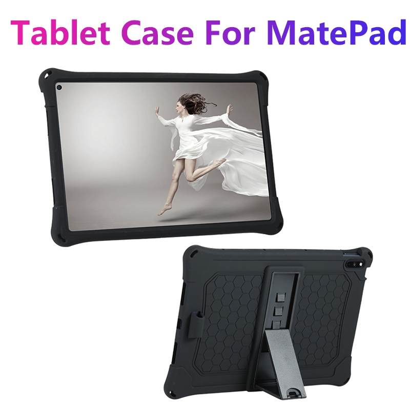 Tablet Case for Huawei MatePad 10.4 Tablet Silicone Case Protective Case Anti-Drop Tablet Cover Tablet Stand with Pen
