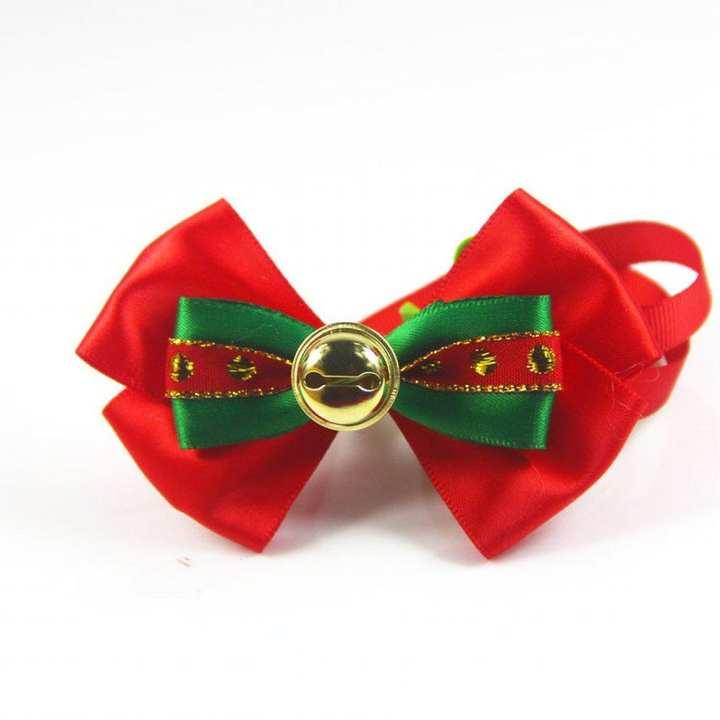 LALA Adjustable Pets Cats Dogs Tie Wedding Accessories Dogs Bowtie Collar Necktie
