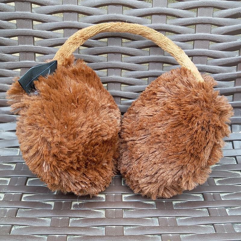 2eef538c8baf0 New Style Russia Women Real Fox Fur Earmuffs Lady Winter Warm Big Fox Fur  Fluffy Ear