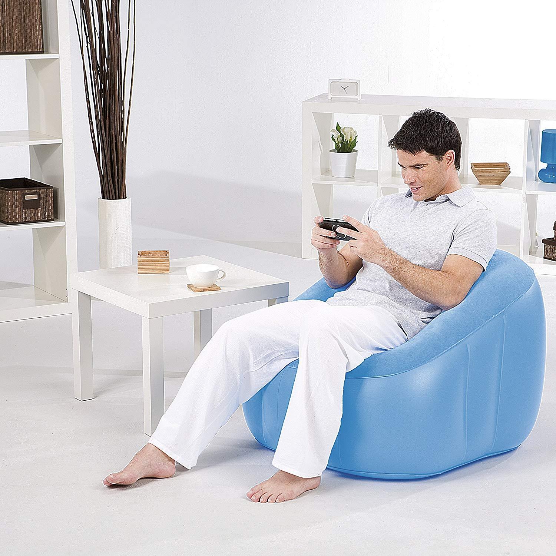 Sofa Adult - Brand Bestway Comfi Cube Sofa Adult - Size 29 Inch x29 Inch x 25 Inch - 75046