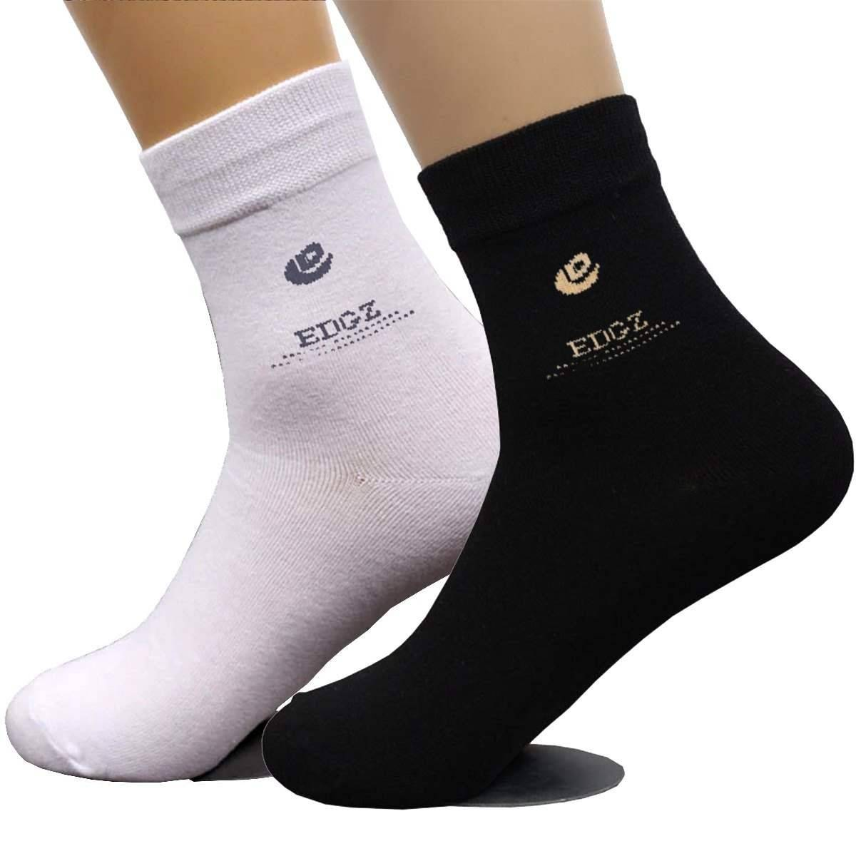2 Pairs / Cotton Breathable Adult Socks For Men