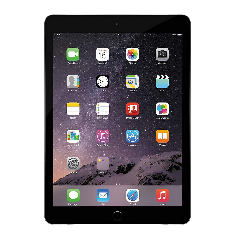 Apple iPad 2, 16 GB, Space Gray, (Renewed)