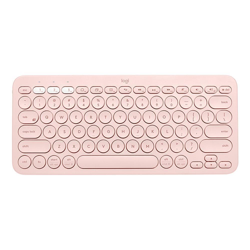 Logitech K380 Wireless Bluetooth Keyboards Portable Multi-Device Keyboard