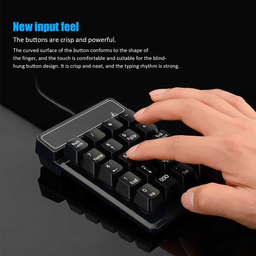 USB Mini Num Pad Numeric Number Keypad Keyboard for Laptop Notebook PC Computer