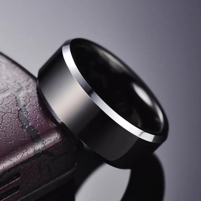 High Quality Trendy Black  Ring / Chala For Men