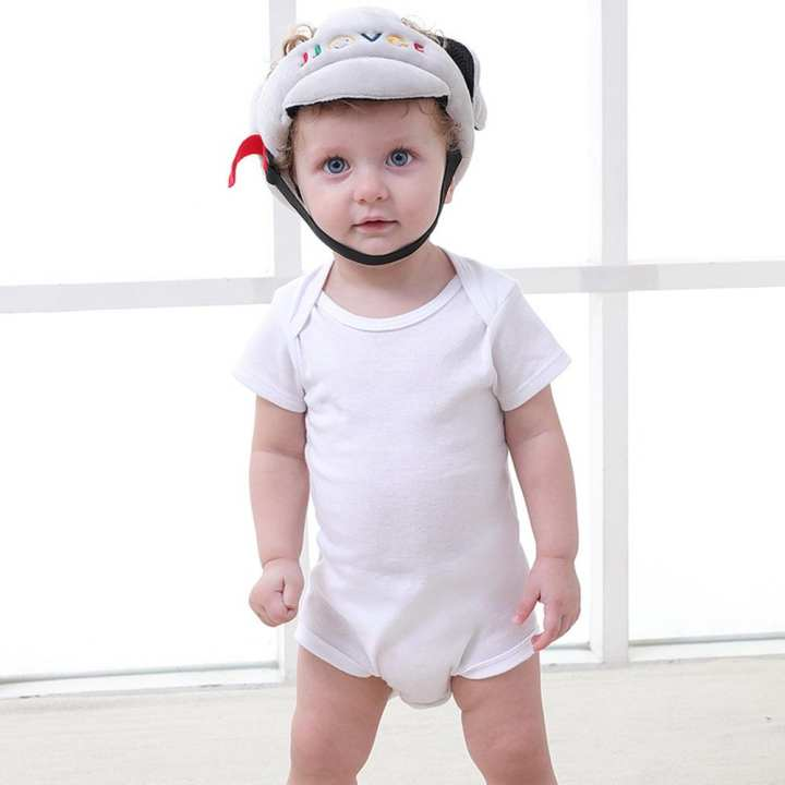 Children Shatterproof Cap Baby Safety Headgear Impact Resistant Toddler Helmet
