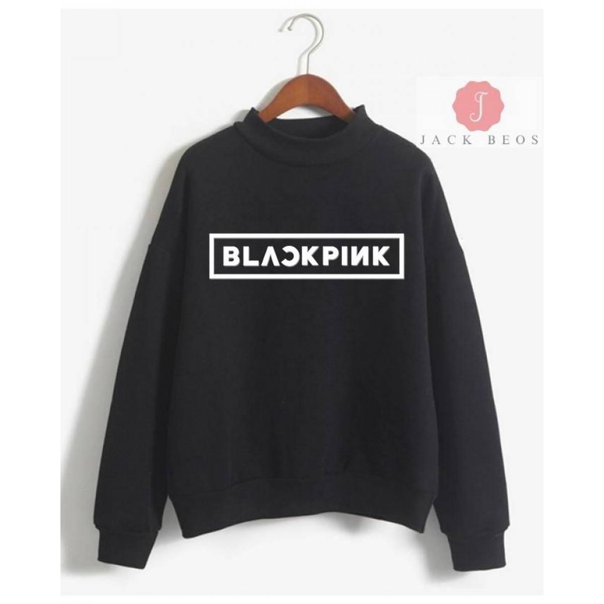 Blackpink Fleece Sweatshirt For Women All Color Available  - 271020191