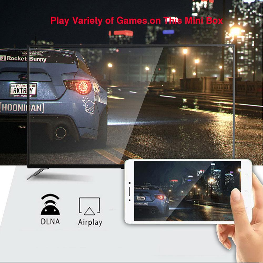 H96 Max 4GB+32GB OS 9.0 4K Resolution Smart Android Tv Box