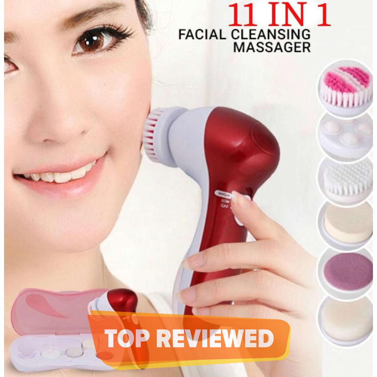 Massager 11 in 1 Face Facial Exfoliater Electric Massage Machine Care