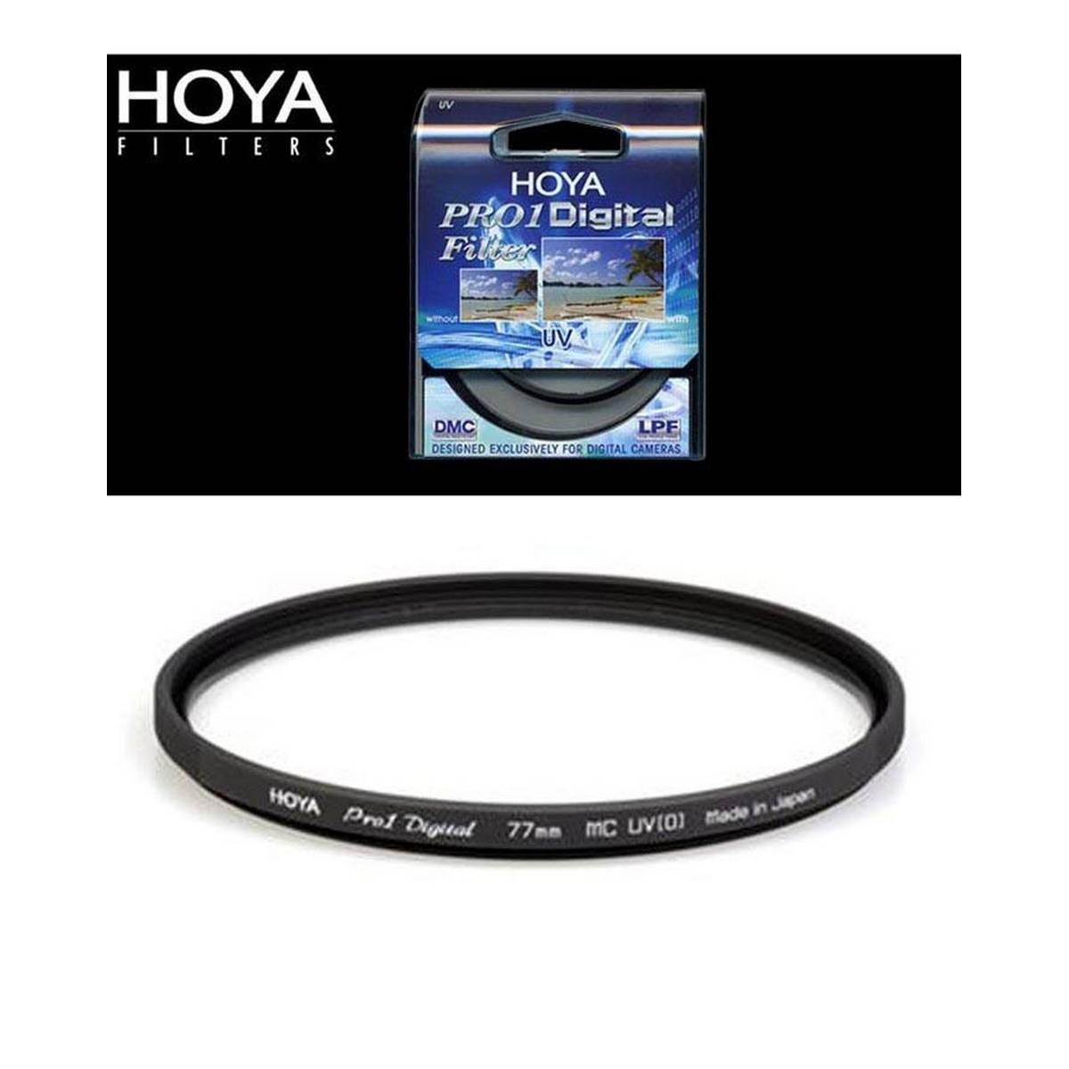 Lens Filter Hoya Pro1 Digital UV MC - 77mm - Black