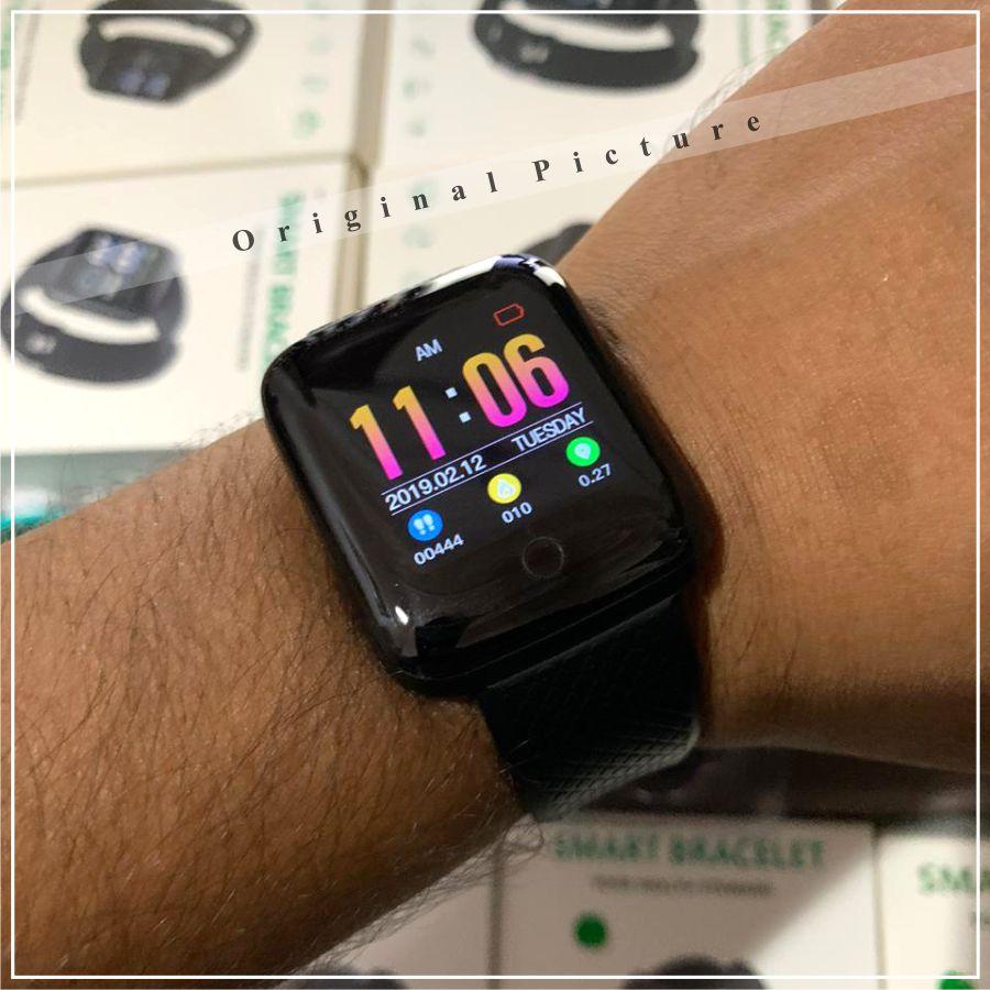 D13 Smart Watch - Bluetooth Smart Watch - Calling Notifier Smart Watch - Health Fitness Bracelet