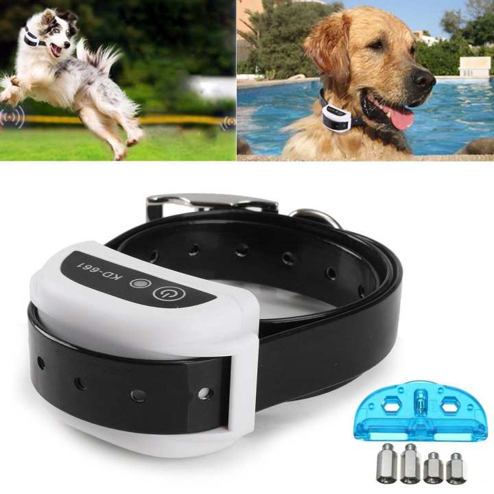 Wireless Pet Dog Fence Collar Receiver Training Containment System Waterproof