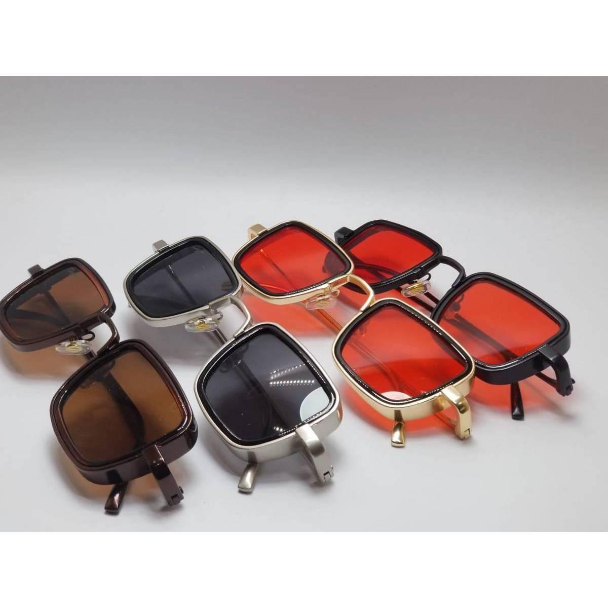 Square Shape Sun Glasses For Men With Box