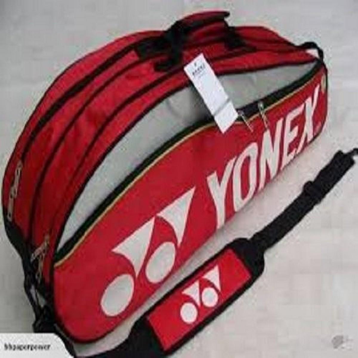 Yonex Badminton,Squash Kit Bag Good Quality Red Colour