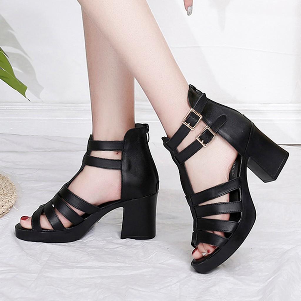 d3ec2f88e Women Fashion Open Toe Platform Sandals Fish Mouth Hollow Out Sandals High  Shoe