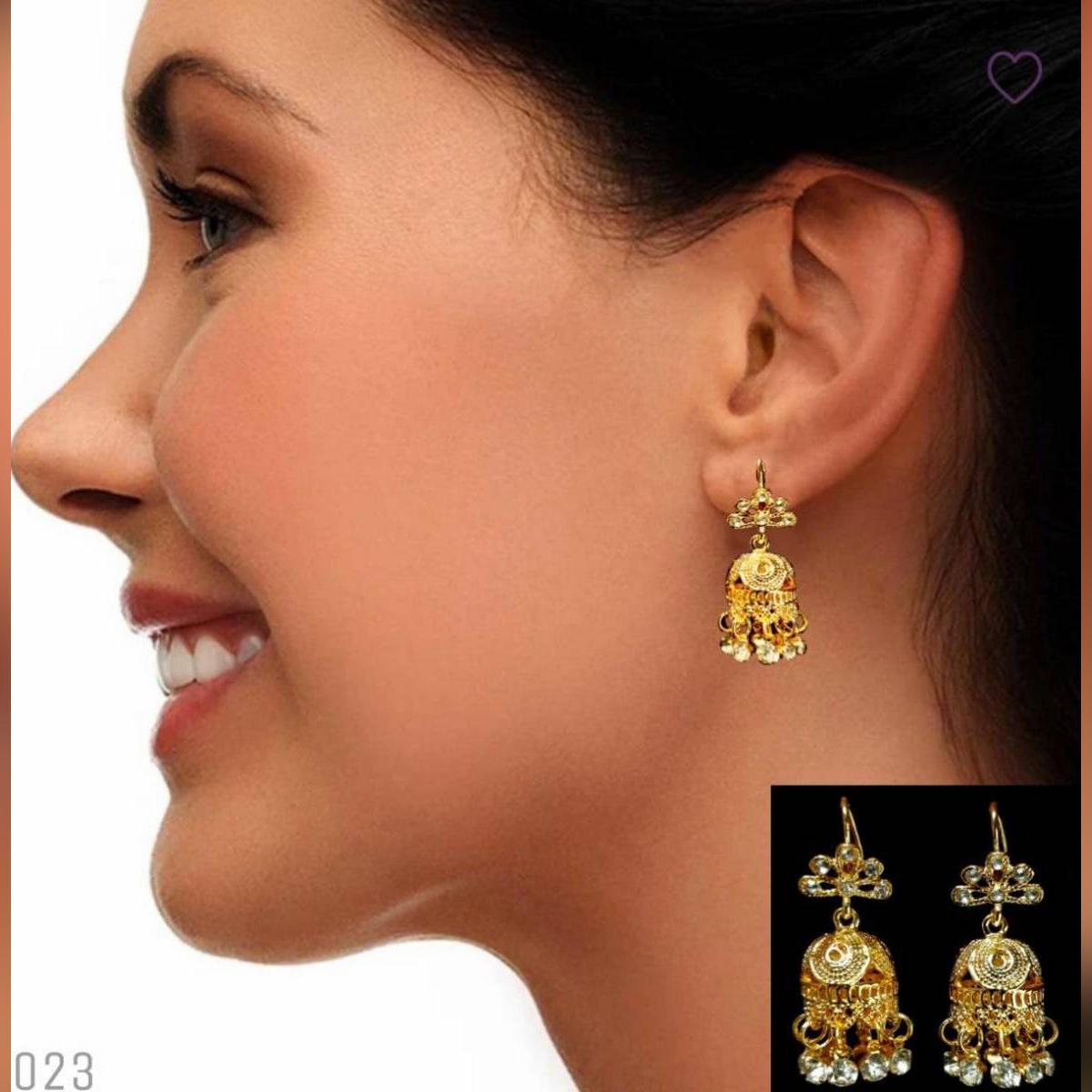 nice jhumki earring With Gift Box