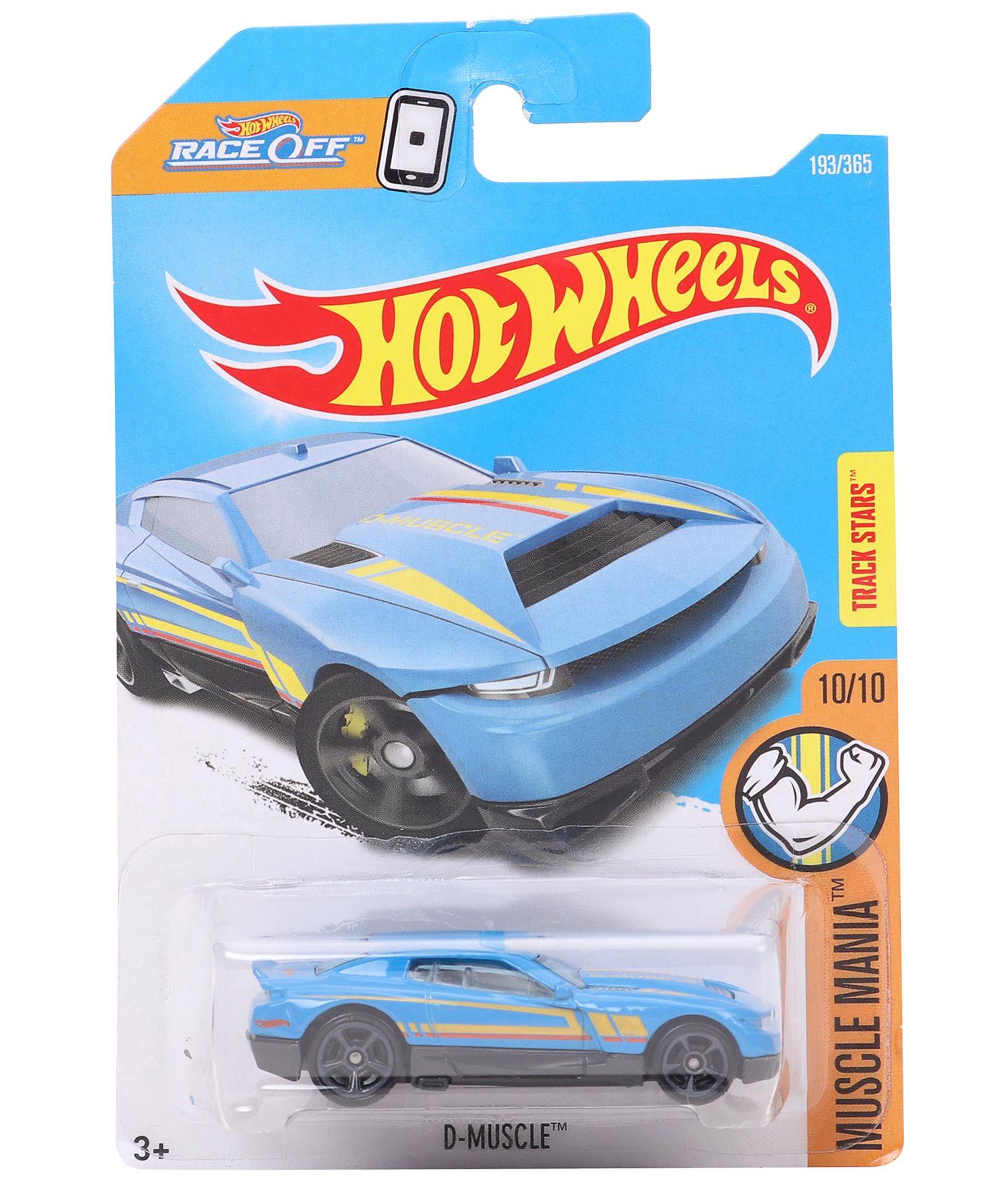 Hot Wheels D-Muscle Diecast Model