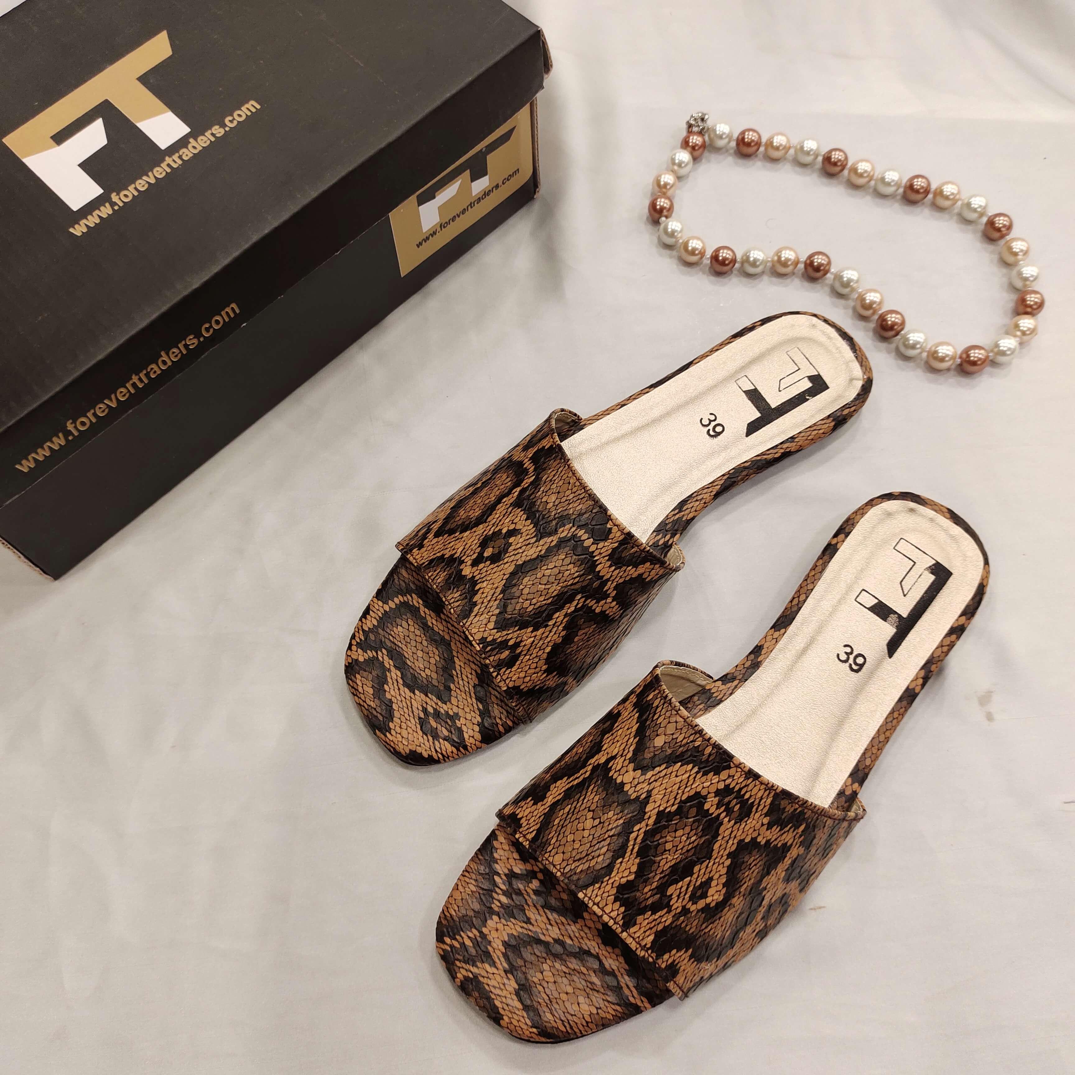 New Elegant Flat Slippers Shoes for Women FR8-97
