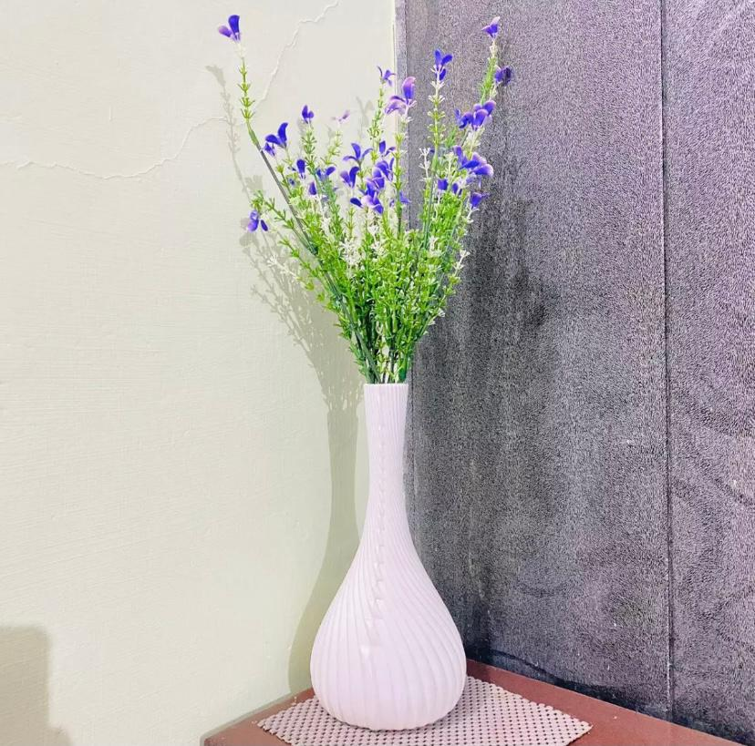 Just Long vase plastic material non breakable washable
