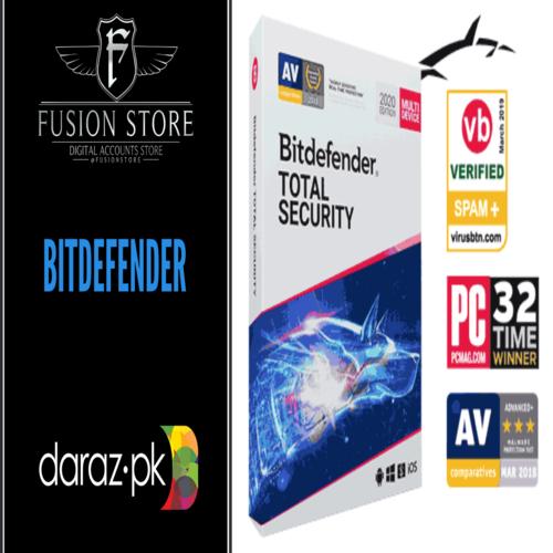 Bitdefender Total Security 2021 180 days 5 devices Bit Defender