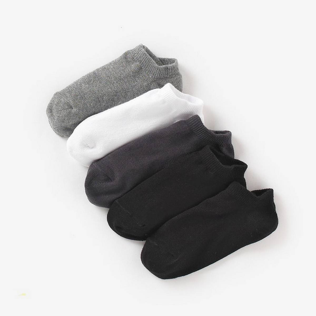 10 PAIR OF ANKLE SOCKS | FOR ALL WEATHERS | DIFFERENT COLORS