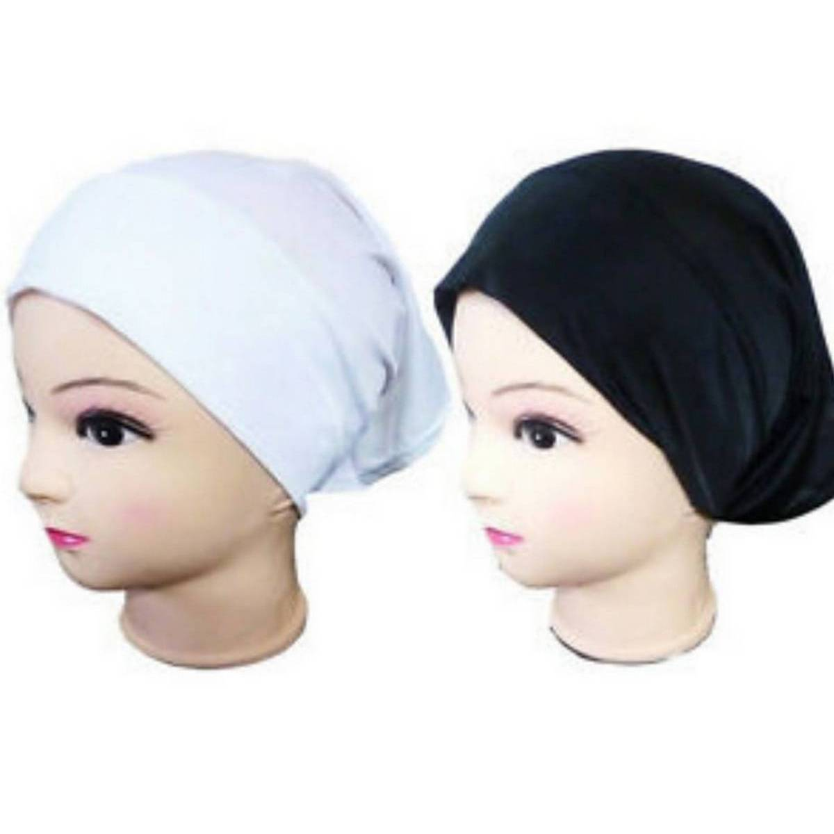 Pack Of 5 Hijab Caps For Women Standard Size
