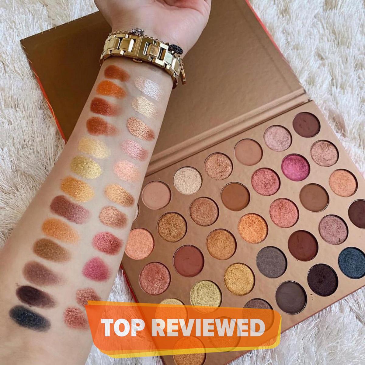35 Colour Eyeshadow Palette 35G Bronze Goals