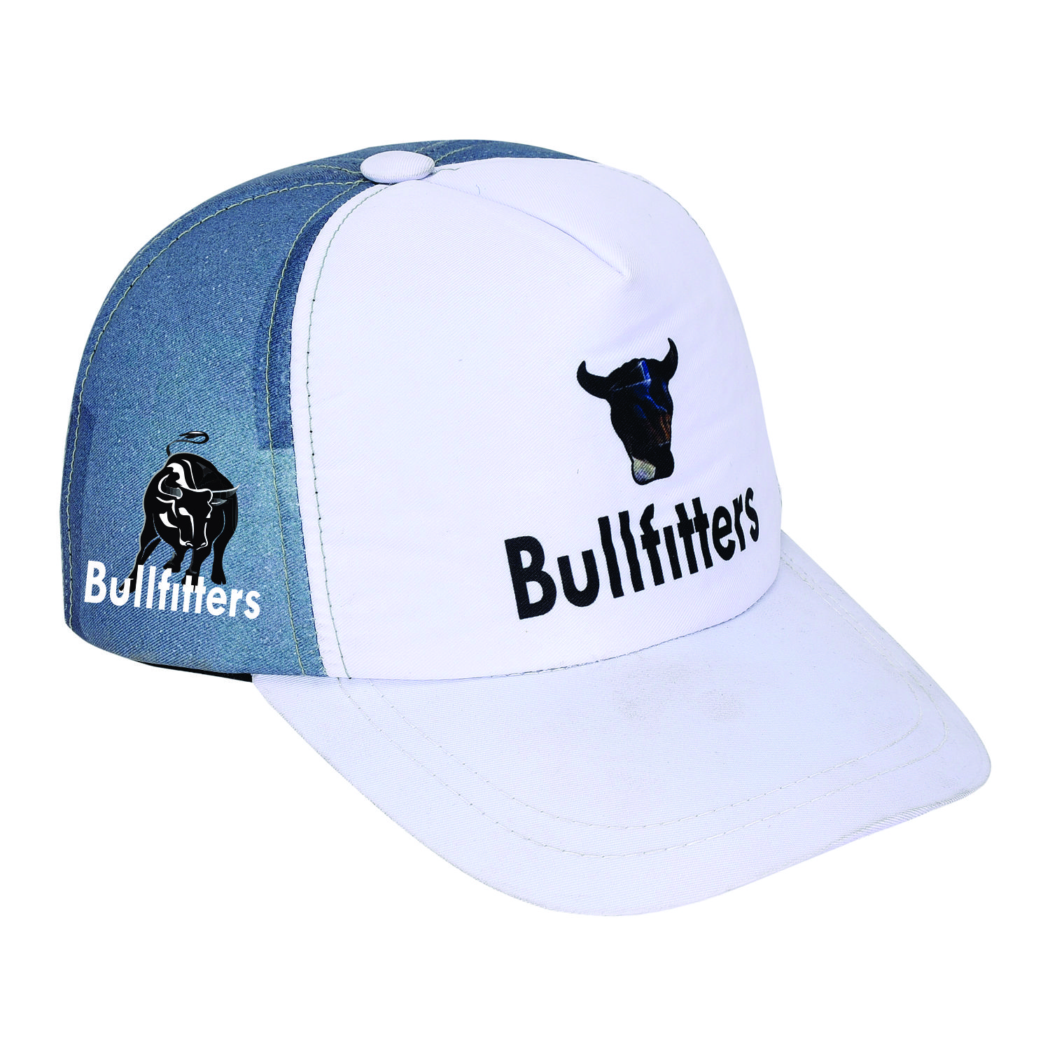 Bullfitters New Arrival Cap For Men Cap For Men Stylish Caps For Boys Winter Cap Sports Hat Visor Cap Baseball Cap Race High Performance Running/Outdoor Sports Hat Autumn Cap - Sublimated Cap With Strap For Winter