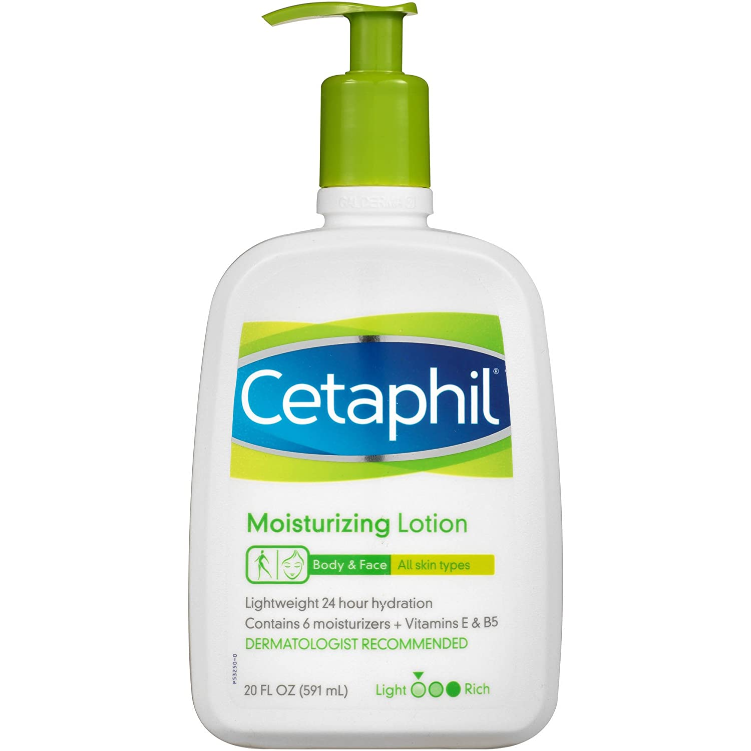 Cetaphil Moisturizing Lotion 591ml For Face and Body All Skin Types