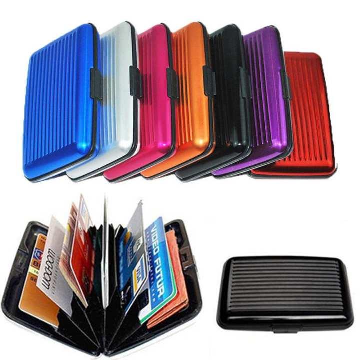 Aluma Wallet for Men & Women - Multicolor