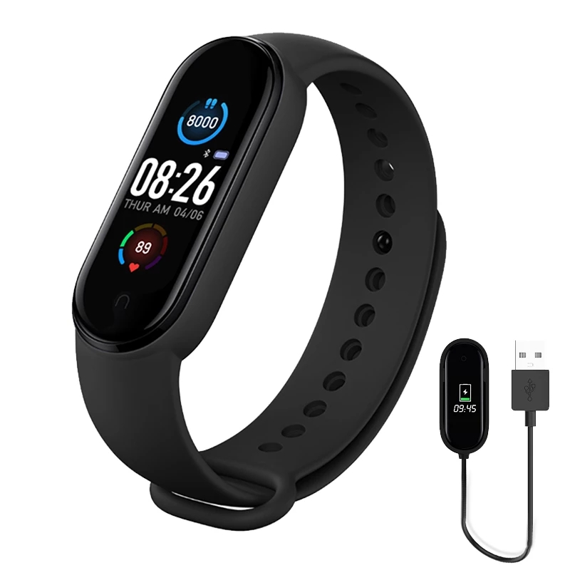 M5 Mini Smart Band Men Women Smart Watch Blood Pressure Sleep Monitor Pedometer Bluetooth Connection For IOS Android