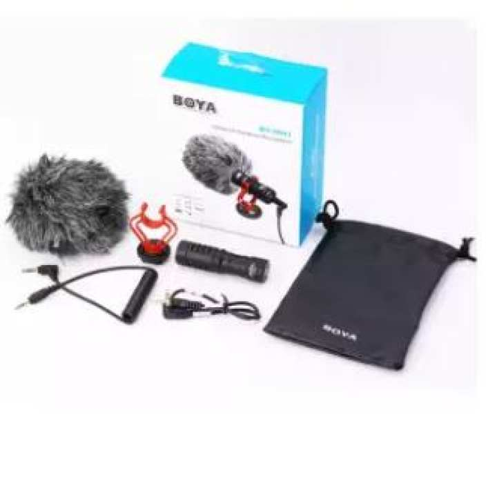 BOYA BY- MM1 Compact On-Camera Video Microphone Recording Mic