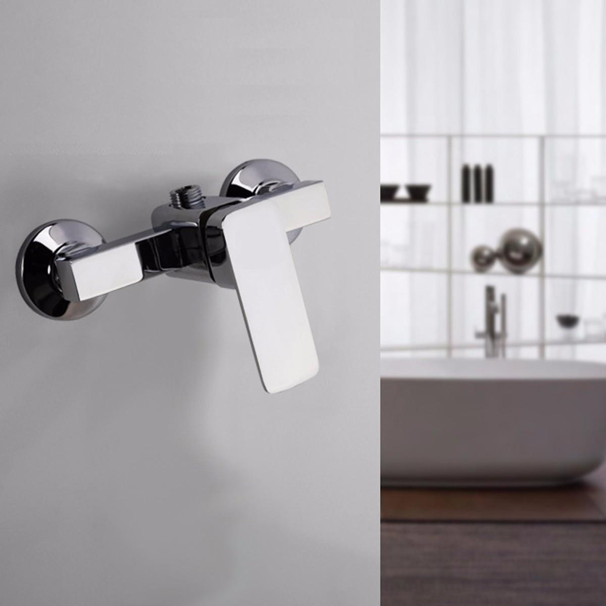 Alloy Bathroom Shower Bathtub Faucet Mixer Mixing Valve Water Tap Durable