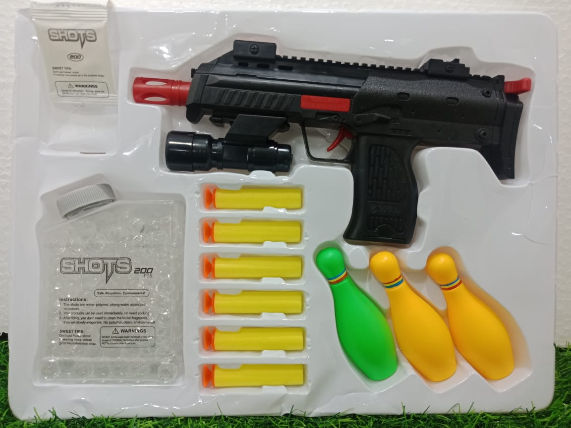 Ghosia Mall's Soft Rubber Bullet_Gun toy for Kids