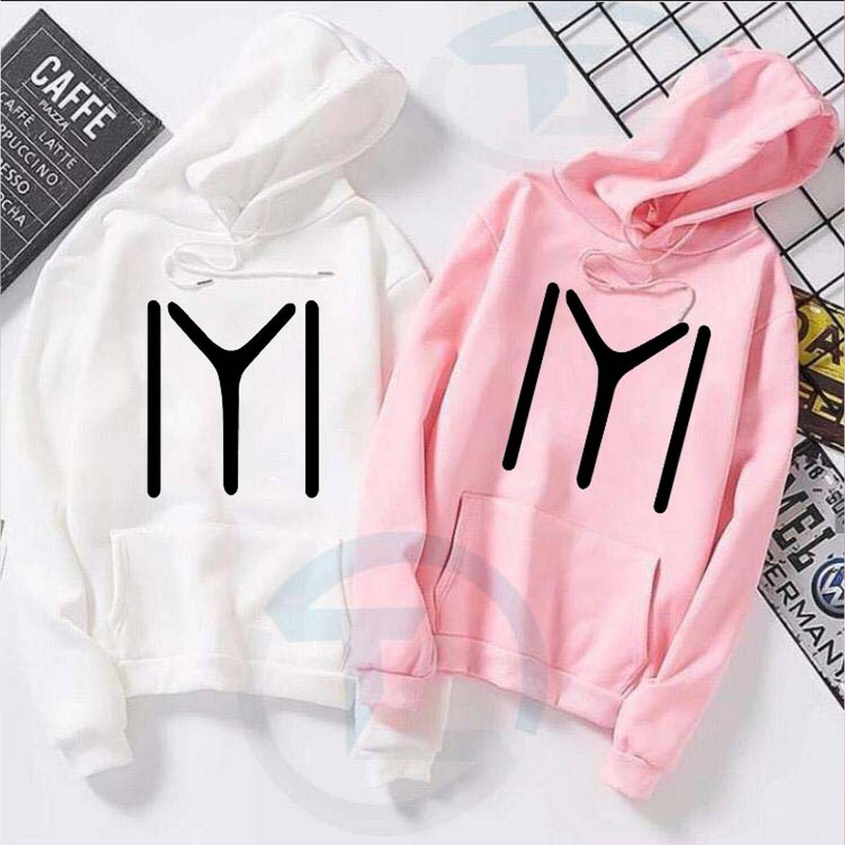 Hoddie for girls new and stylish design (Ertugrul ),Winter Wear ,Export Quality , Round Neck
