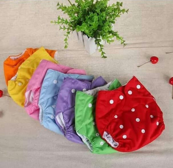 Baby Reusable Adjustable Washable Diapers 0-3 year Button Panty