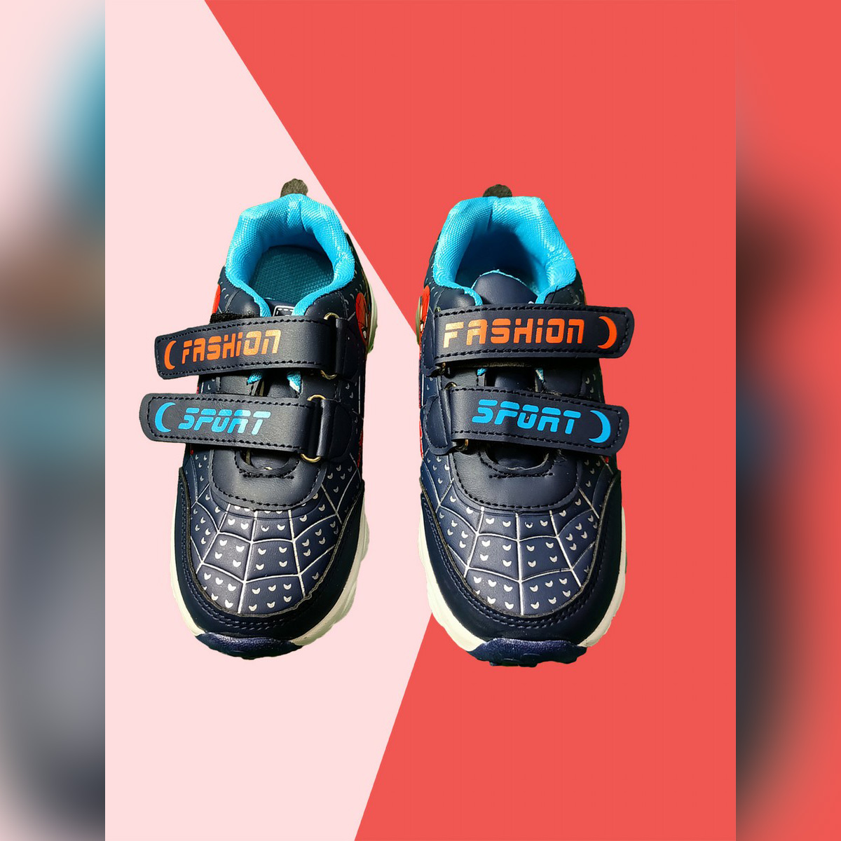 IMPORTED Blue Kids Shoes with Light