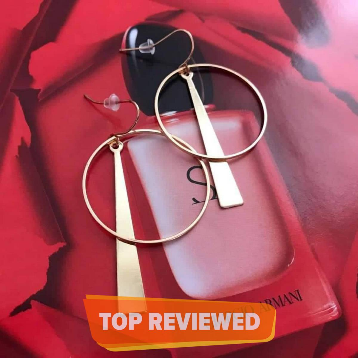 Earrings with Korean Long Circle Ear Line For Girls and Woman - New Style