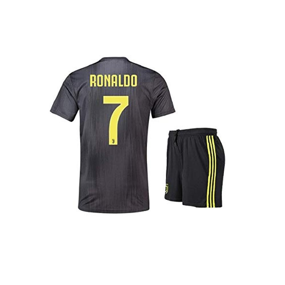 timeless design a81be 20b46 Ronaldo Juventus Away Kit 2018/19 - Kids Size