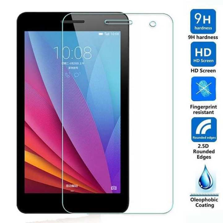 Huawei Mediapad T1 7` Inch Screen - Tempered Glass Protector - Transparent