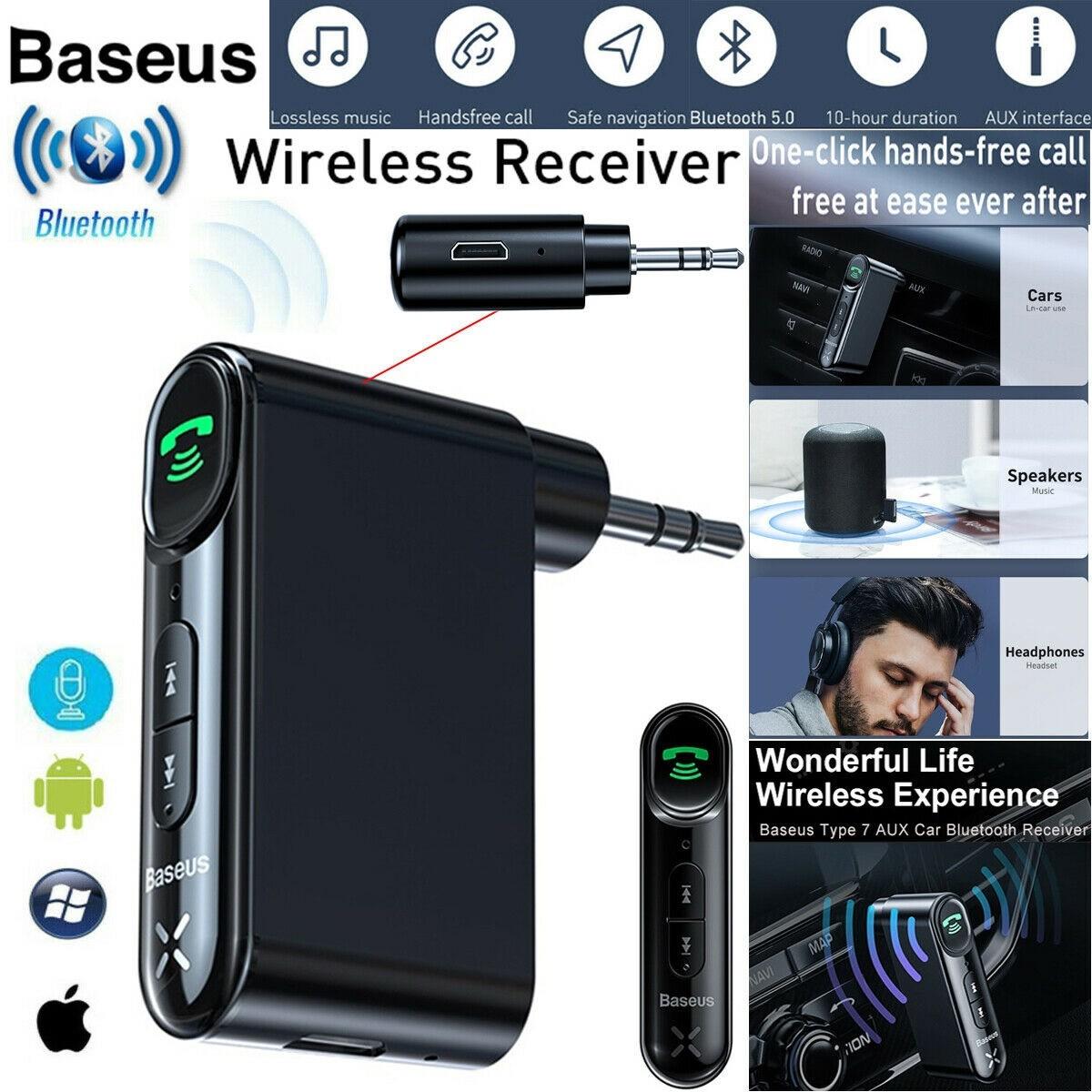 Car Bluetooth Audio Receiver AUX Mini Jack For The Car