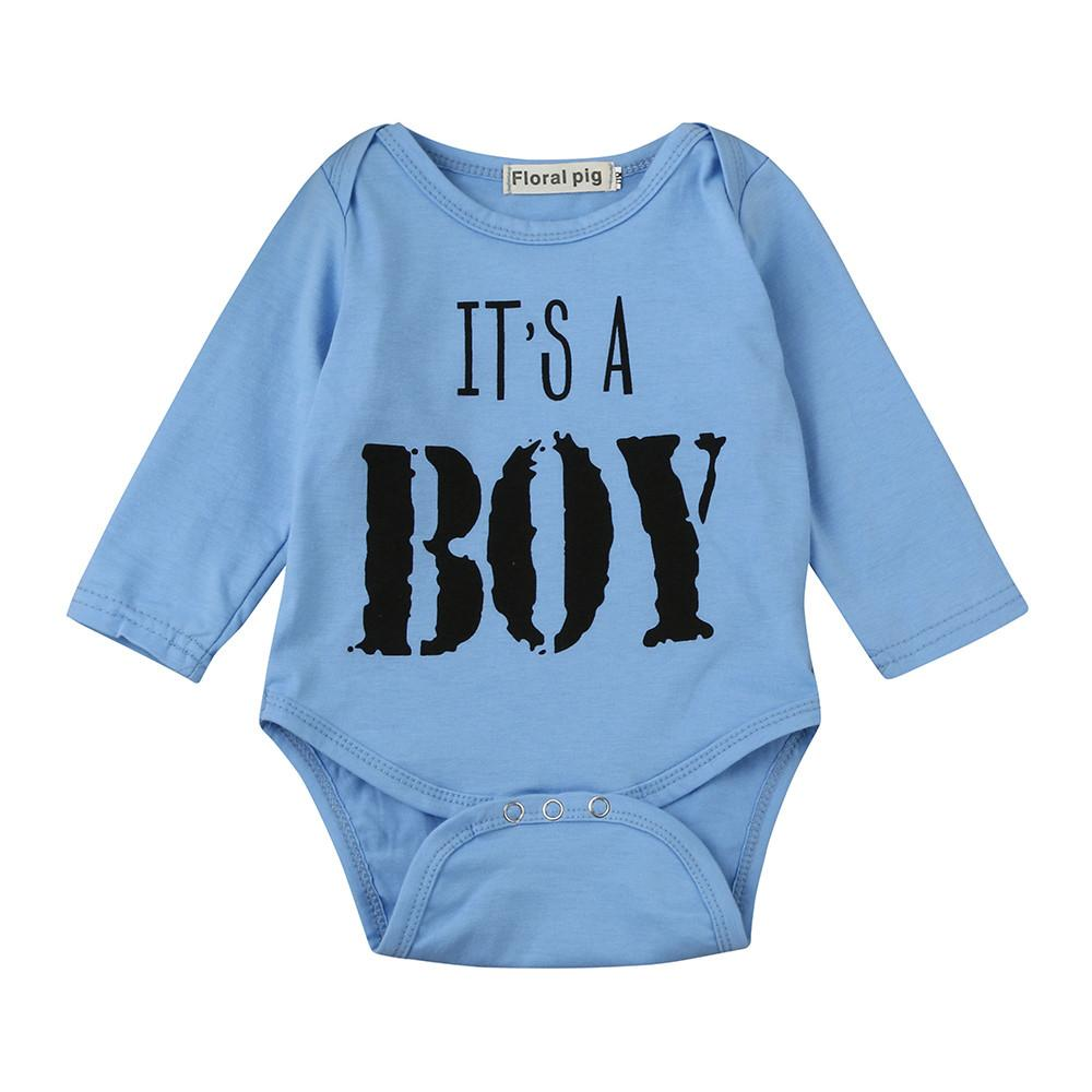 a2414401adb4 Stonershop Newborn Baby Boys Toddler Letter Print Romper Jumpsuit Outfits  Clothes
