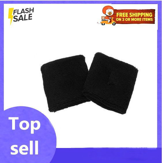 Pack of 2 Wrist Bands - Black