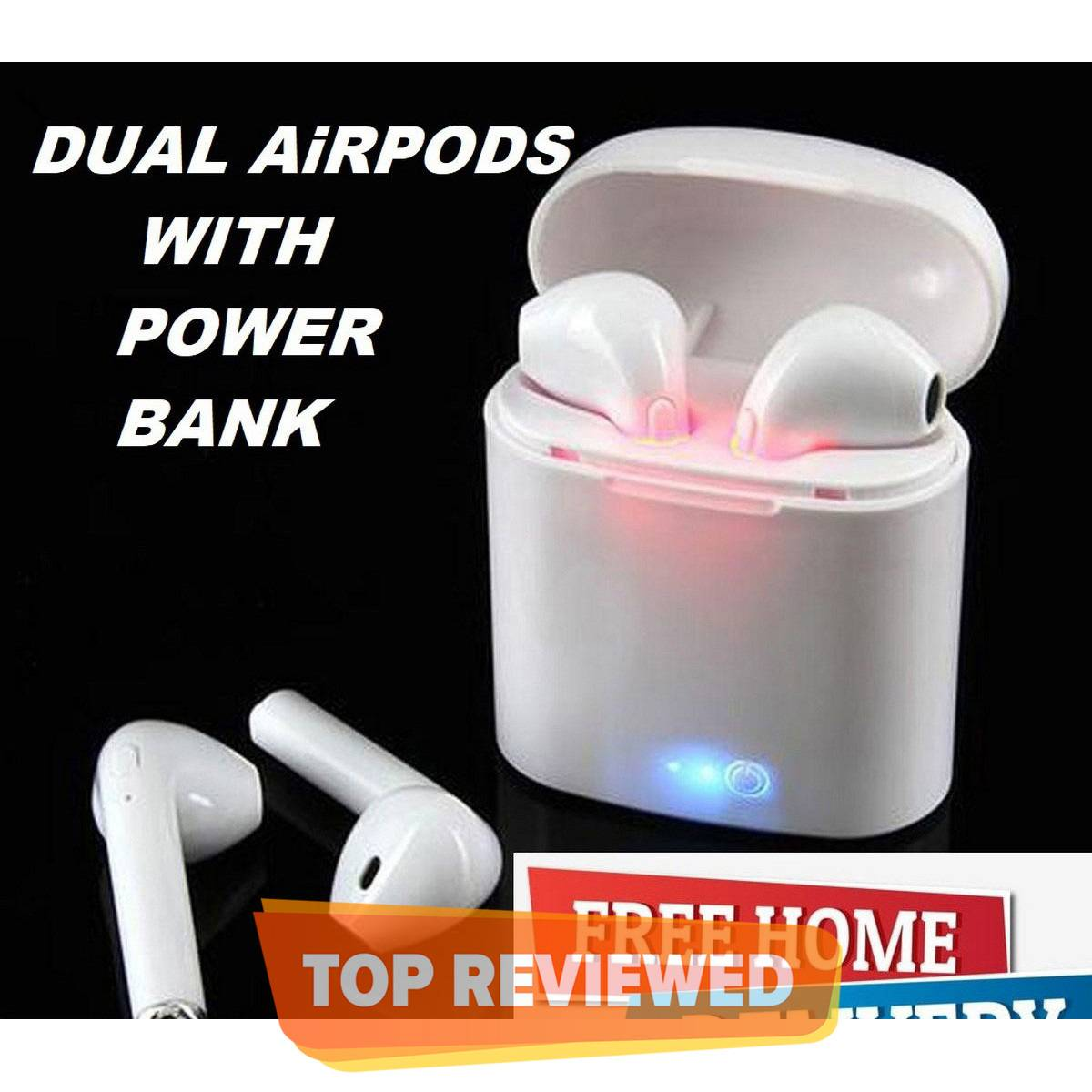 I7s TWS Wireless Earbuds Bluetooth Handsfree For Iphones Android Devices