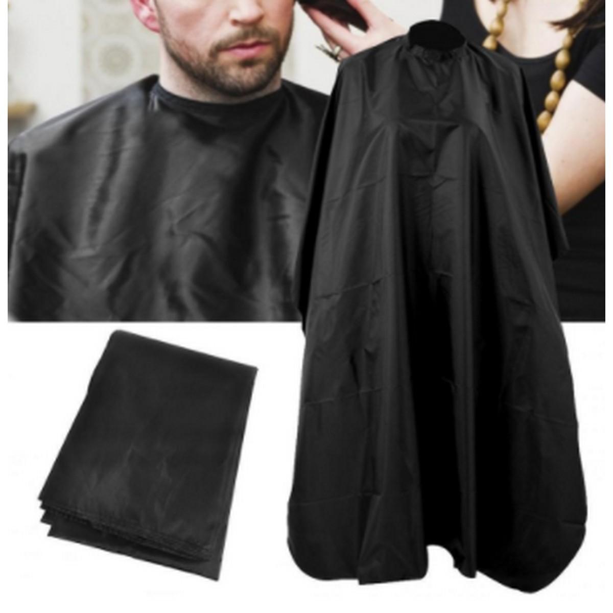Apron Of Black Colour Hairdressing Cape Professional Hair-Cut Salon Barber Cloth Wrap Protect Gown Apron Waterproof Cutting Gown Hair Cloth Wrap