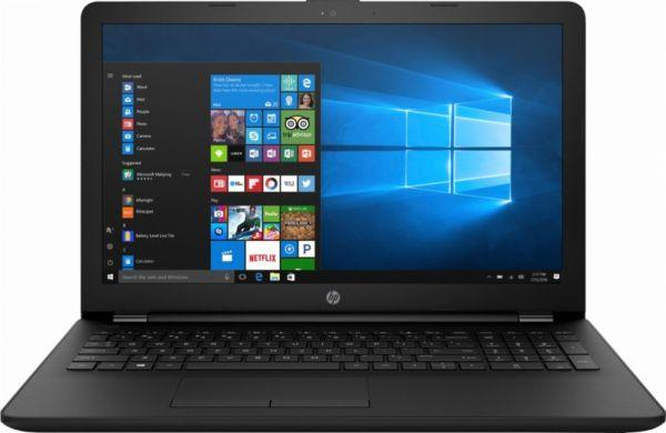 HP 15-ra009ne Laptop -Intel Celeron N3060, 15.6-Inch HD, 500GB, 4GB, Eng-Arb-KB, Windows 10, Black