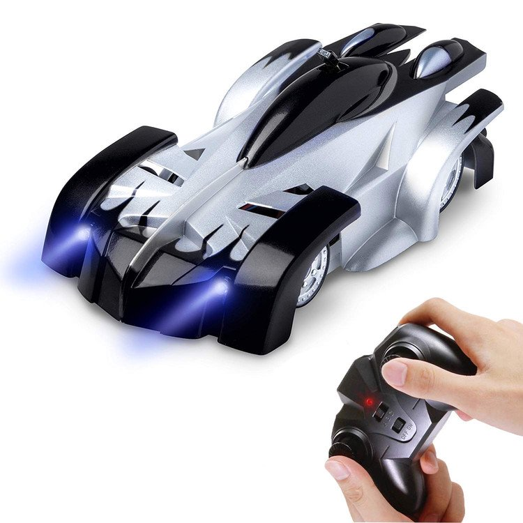New Wall Racing Ceiling Glass Climbing RC Car Zero Gravity Floor Mini Racer Remote Control Crawler Toys for Children Boy