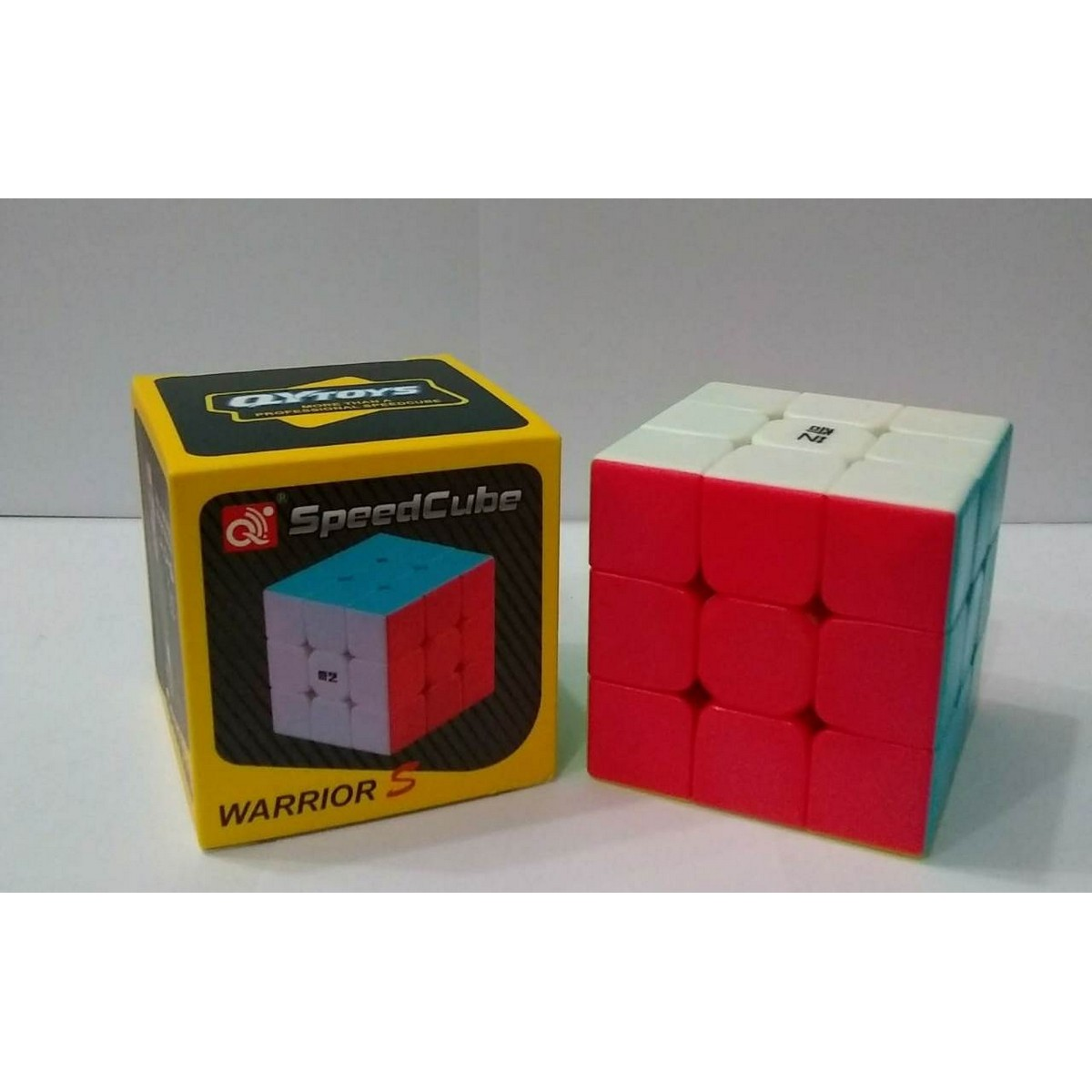QY Rubic Cube 3x3 With Solve Algorithm A Grade Quality Puzzle Toy Educational Toy