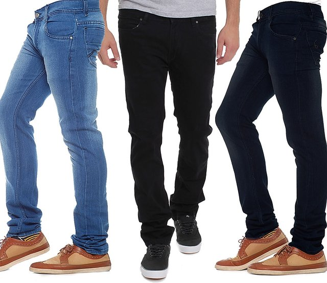Pack of 3 mens denim jeans by AW