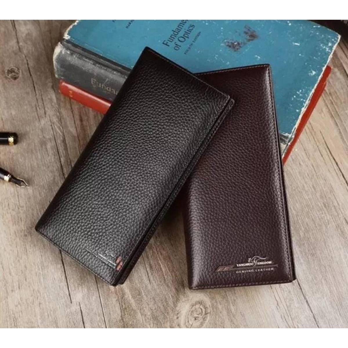 long wallet for men mobile wallet cardholder